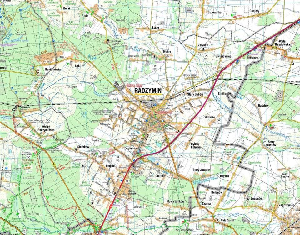 radzymin mapa